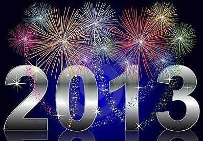 um feliz 2013 Um Feliz Ano Novo