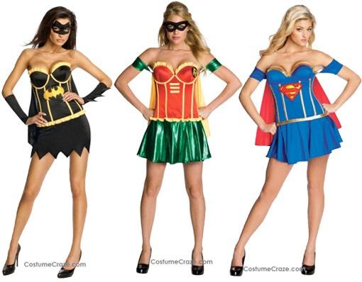 Fantasias de Carnaval Femininas super heroinas Fantasias de carnaval femininas