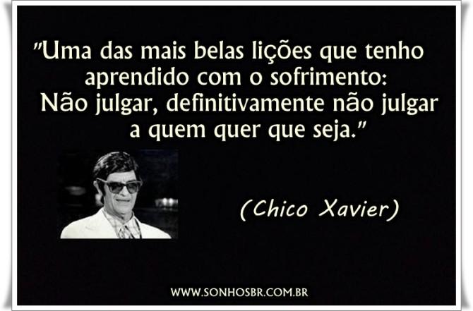 Frases Espíritas de Chico Xavier - Frases Curtas