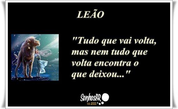 Signo De Leão Frase