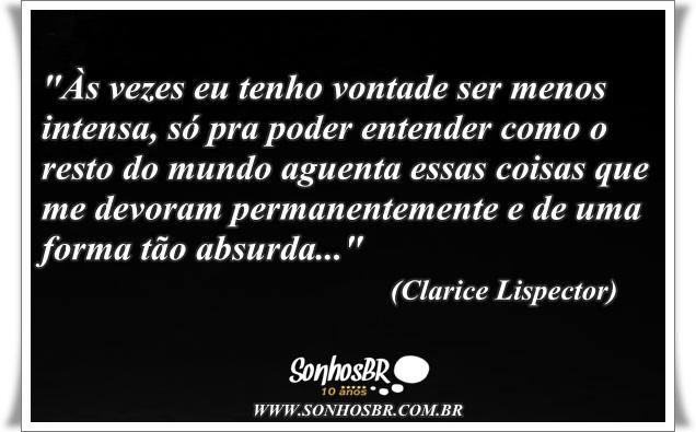 Lindas Frases De Clarice Lispector