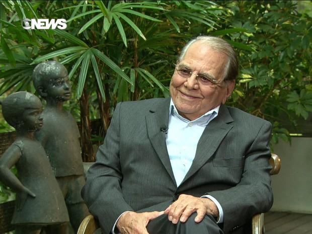Ivo Pitanguy é reconhecido mundialmente como uma das maiores autoridades em cirurgia plástica (Foto: GloboNews)