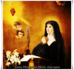 16 de Outubro Dia de Santa Margarida Maria Alacoque